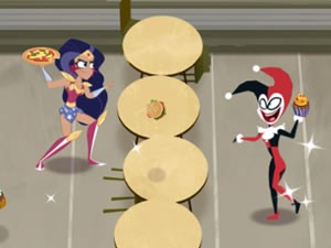 DC: Super Hero Girls: Food Fight