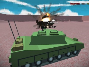 Game Helicopter and Tank battle Desert Storm