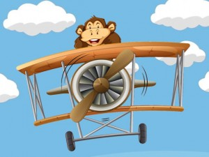 Kids Plane Hidden Stars