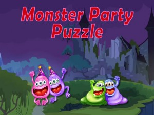 Monster Party Jigsaw
